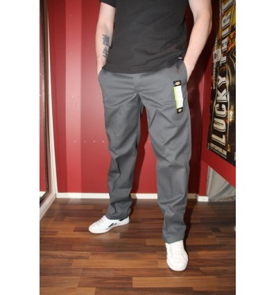 "Dickies workerhousut 873 ""Slim Straight"" charcoal"