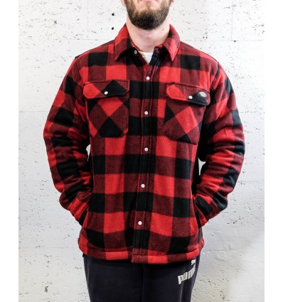 "Dickies fleece ""Portland"" punainen"