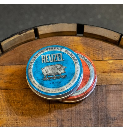 Reuzel Blue Strong hold high sheen pomade 113 G