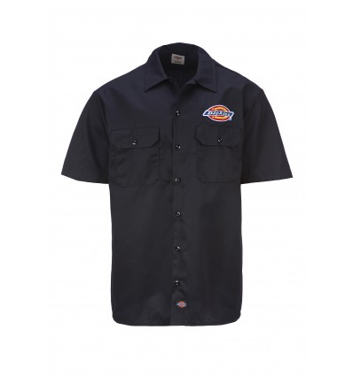 "Dickies ""Clintondale"" lyhythihainen workerpaita, black"