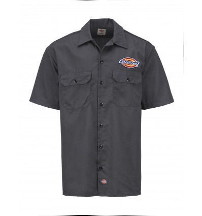 "Dickies ""Clintondale"" lyhythihainen workerpaita, charcoal grey"