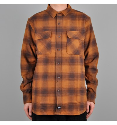 Dickies Waneta kauluspaita Brown Duck